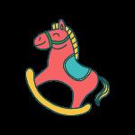 ikona houpacího koně