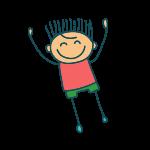 ikona skákajícího panáčka