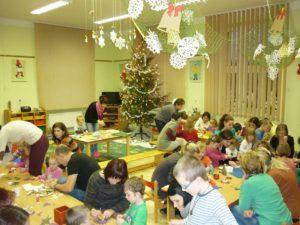 školka o vánocích