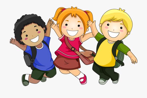 kreslené dětské postavičky